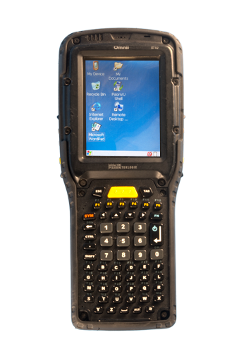 Psion / Teklogix OMNII XT10 RF Handheld Terminal: 7545XV - OA111120100B1102